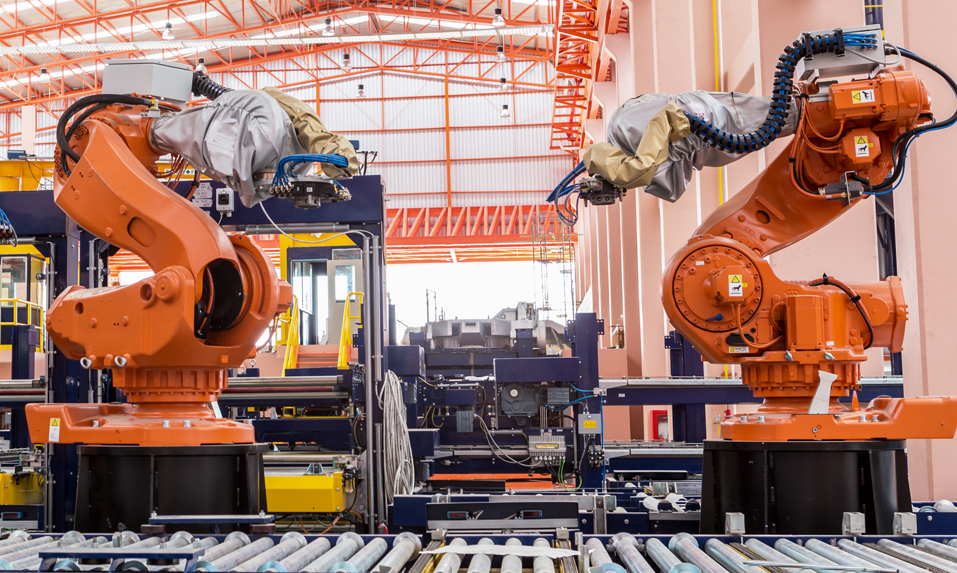 UK Manufacturing industry: image of robots