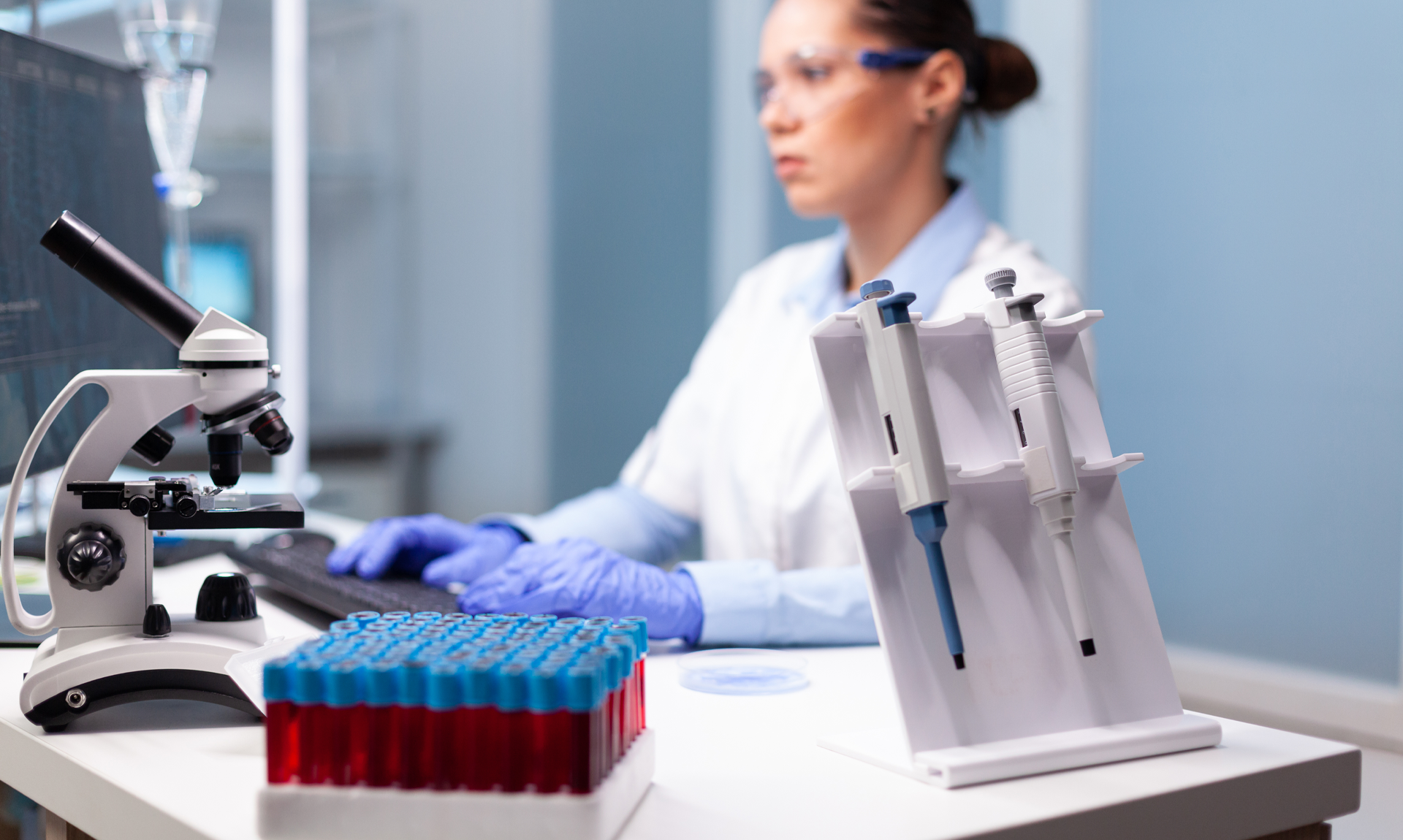 German pharmaceutical industry: image of a scientist